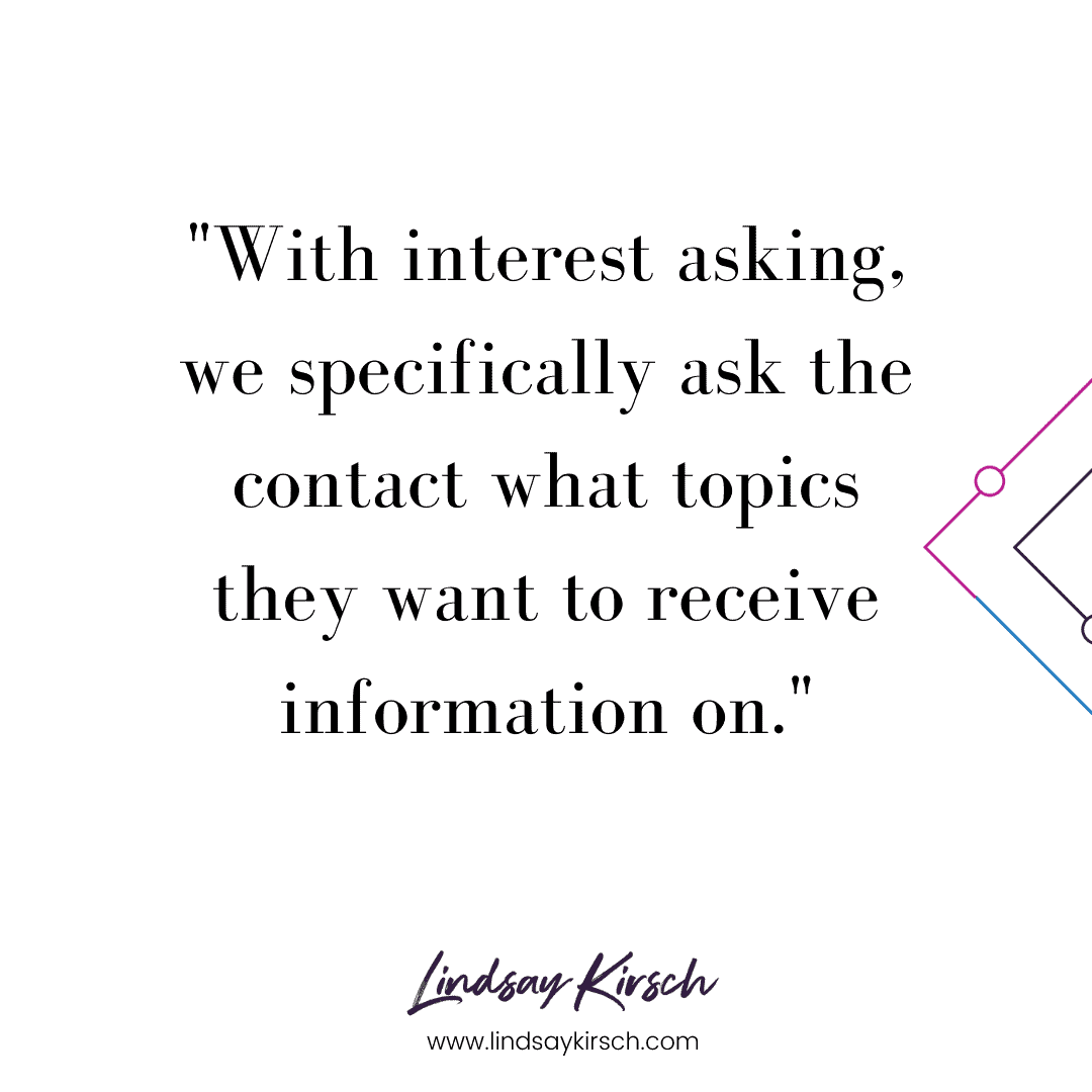 what is interest asking?