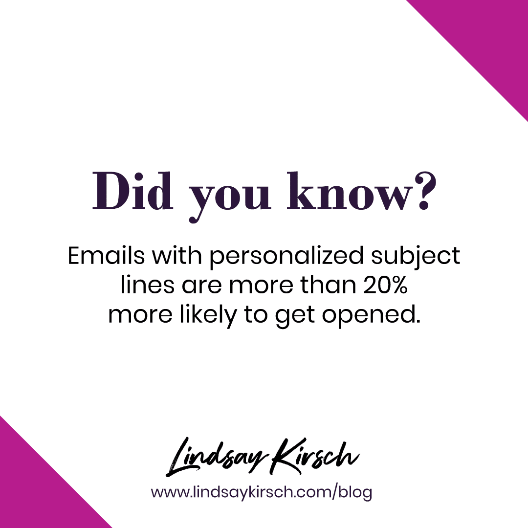 Subject lines email