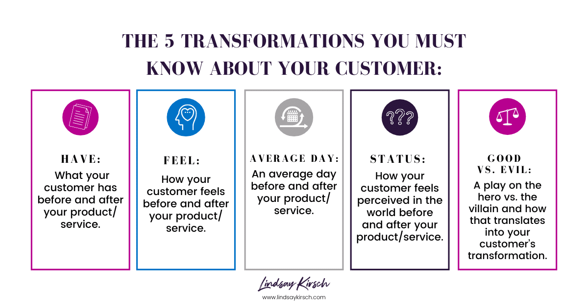 How to Build a Customer Transformation Story